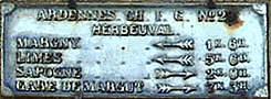 Panneau a Herbeuval